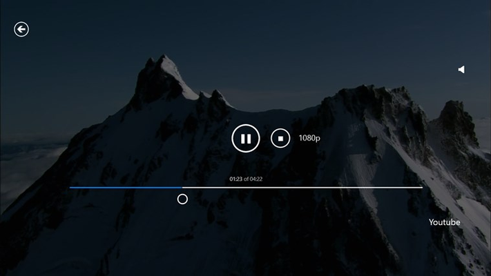 mobile.HD Media Player for Windows 8