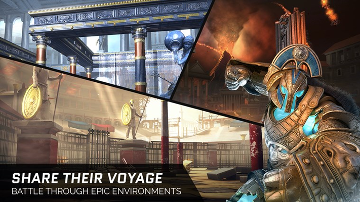 SHARE THEIR VOYAGE BATTLE THROUGH EPIC ENVIRONMENTS