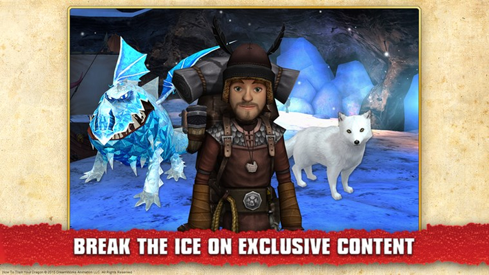 Break the Ice on Exclusive Content