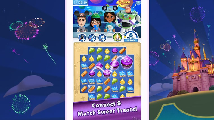 Connect & Match Sweet Treats!