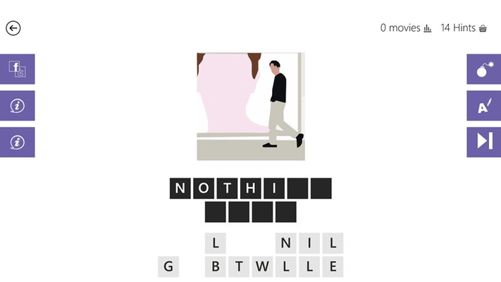 Guess The Movie Quiz! for Windows 8