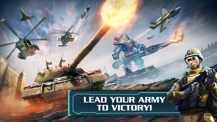 LEAD YOUR ARMY TO VICTORY!