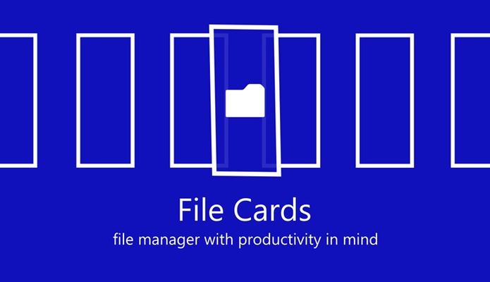 File manager with productivity in mind