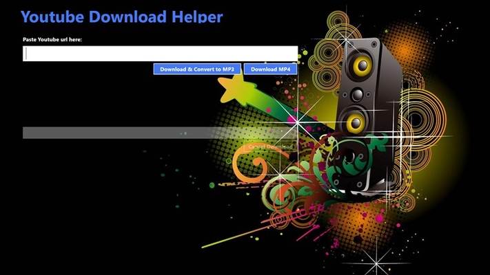 Download mp4 or mp3 files from Youtube