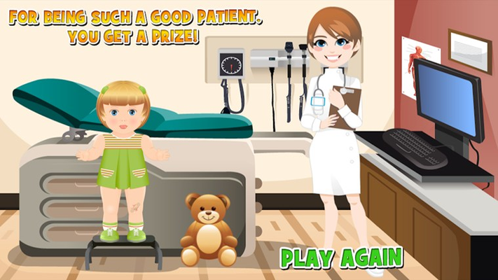 Get a prize for being a good patient