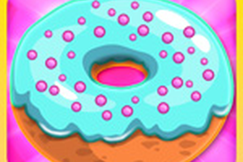 Donut Maker - Crazy Chef Cooking Game for Kids