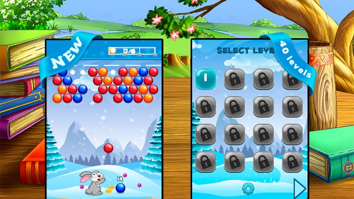 Bubble Shooter - Easter Bunny for Windows 8