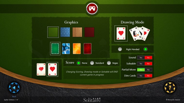 Solitaire HD for Windows 8