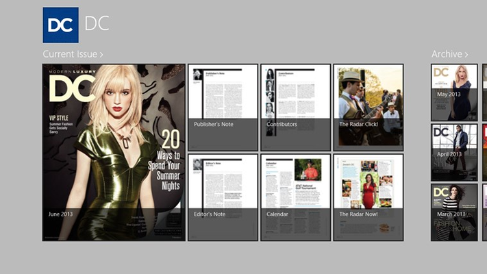 DC Magazine for Windows 8