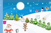 Christmas sounds play when tapping items to keep kids amused