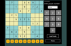 The puzzle number screen generates a puzzle based on the puzzle number input by the user.
