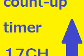 Count-up Timer 17CH