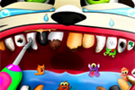 Crazy Little Dentist - Virtual Surgery Simulator Game for Kids