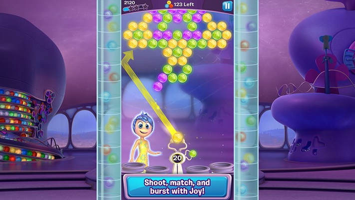 Shoot, match and burst with Joy!