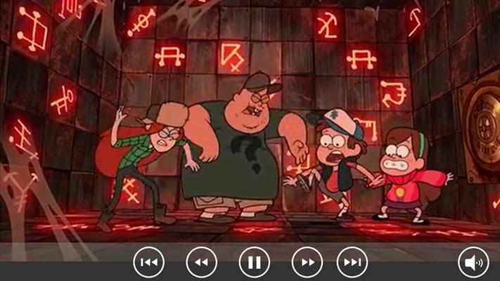 Gravity Falls Animated Cartoon for Windows 8