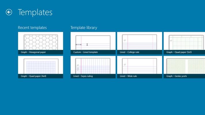 Select templates to print