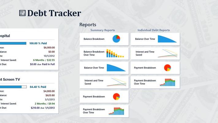 Main Dashboard - Reports