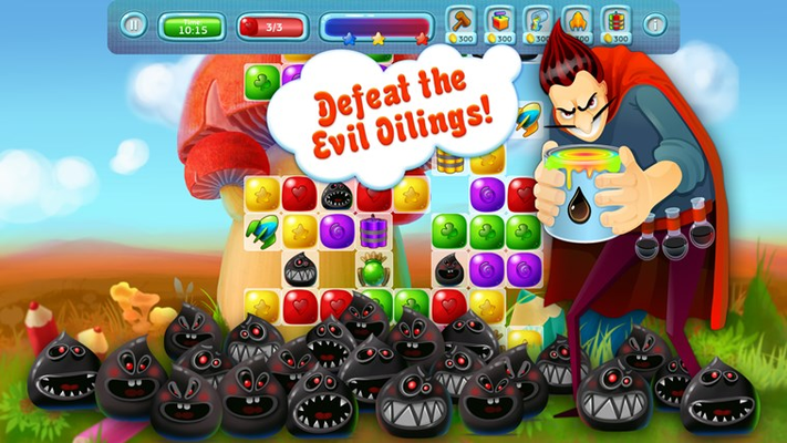Defeat the Evil Oilings!