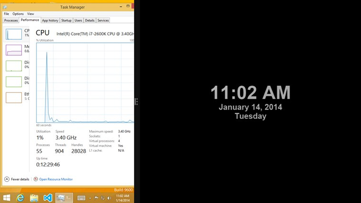 Clock Tile DIY+ for Windows 8