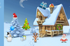 Help Santa and his reindeer find Christmas items