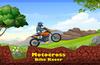 Motocross dirtbike racing
