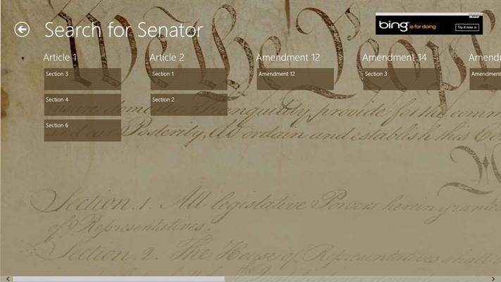 Search the Constitution