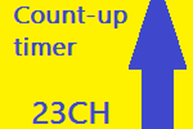 Count-up timer 23CH
