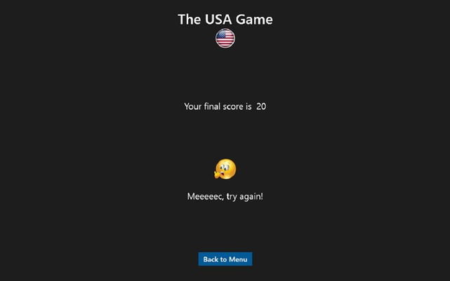 Getting a normal score, not too good, not too bad.