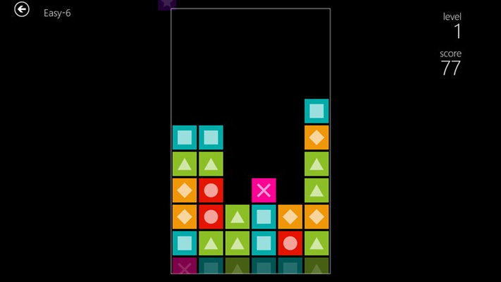 Normal mode has a never ending stream of bricks.  How long can you last?