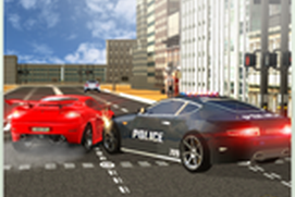 Police Car Chase Smash - Traffic Violation Control