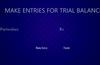 Make Trial Balance