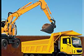 Heavy Excavator Dumper Truck