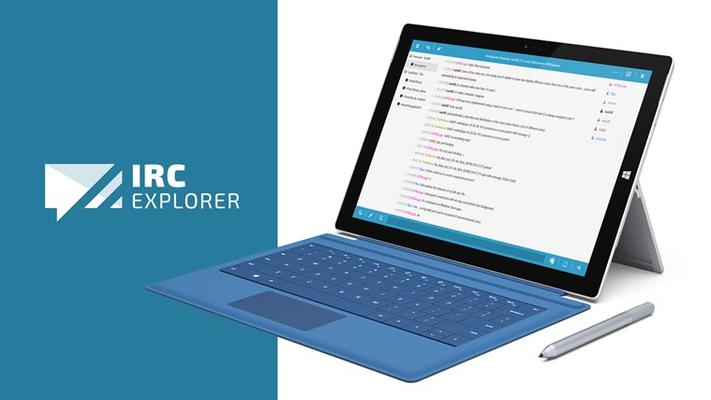 IRC Explorer for Windows 8