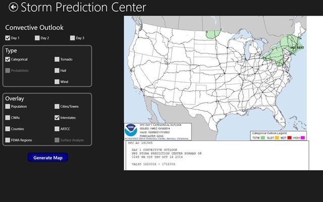 Storm Prediction Center