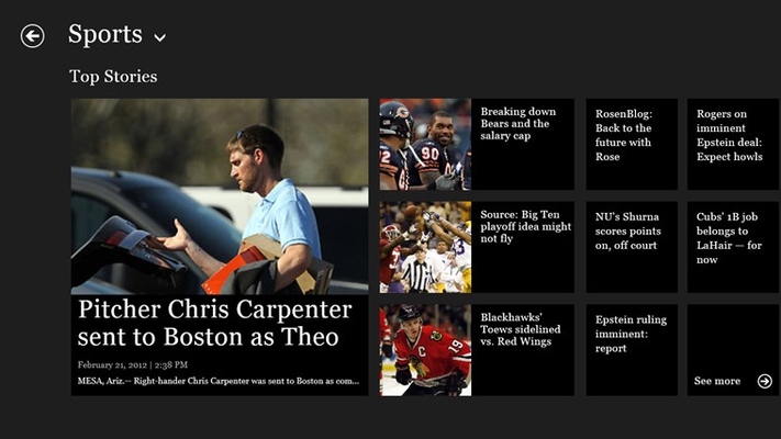 Top Stories (Sports)