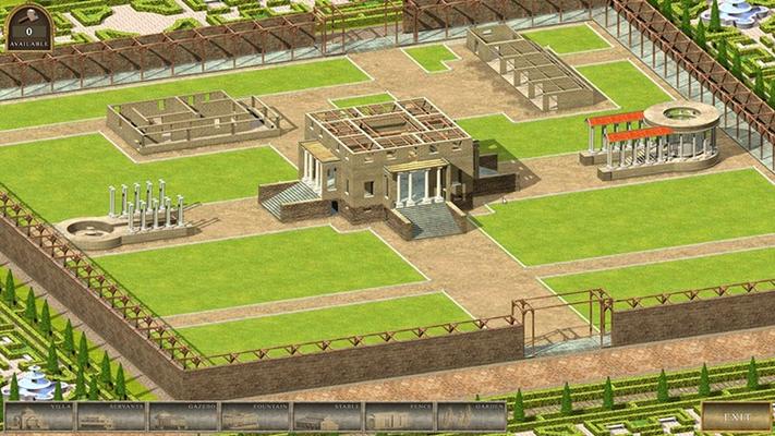 Build your own villa.