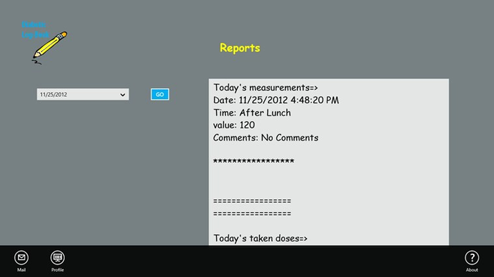 Getting Reports Through Date