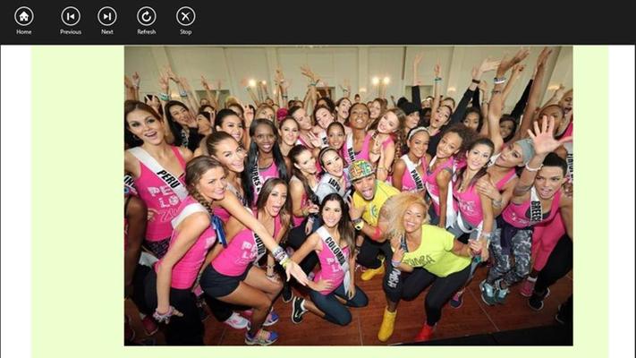 Informasi lain tentang Miss Universe, Miss World, dll juga tersedia.