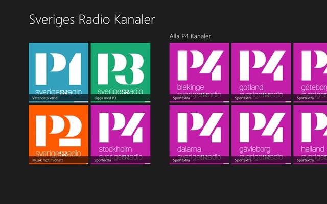 Sveriges Radio kanaler