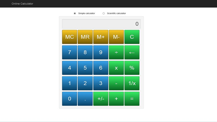 Free Online Calculator for Windows 8