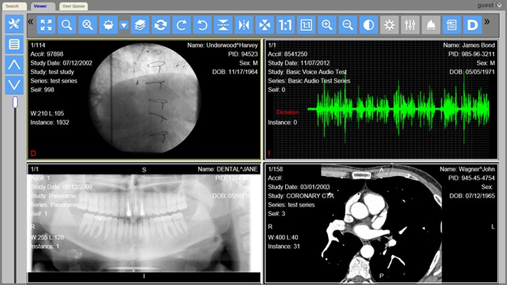 LEADTOOLS Medical Web Viewer for Windows 8