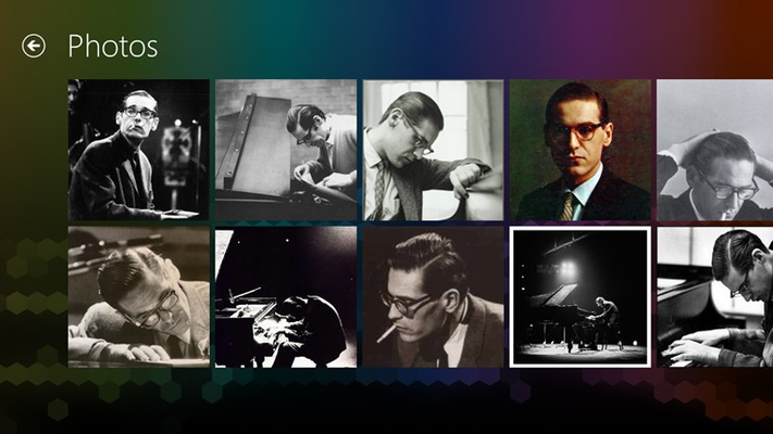 Bill Evans FANfinity for Windows 8