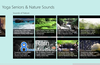 Main view scrolled to show the Nature Sounds videos that are available.