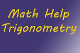 Math Help: Trigonometry
