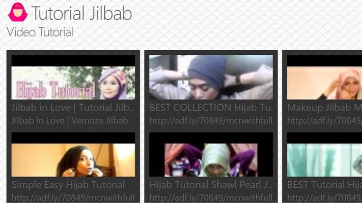 Menampilkan video tutorial step by step