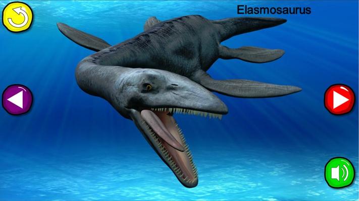 The scary Elasmosaurus