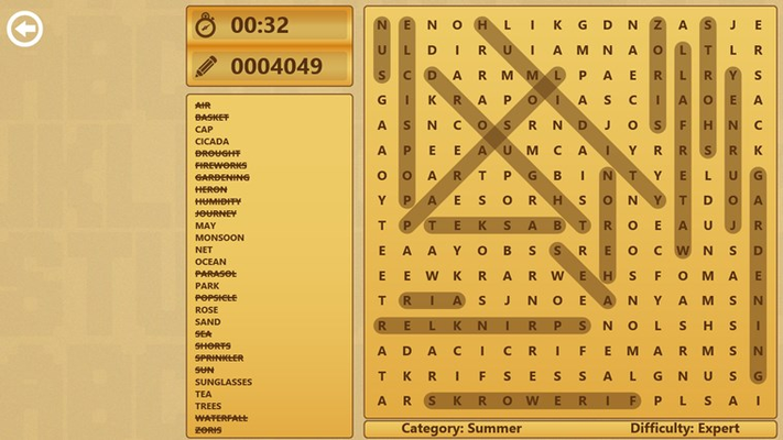 Download Word Search today!
