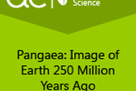AC Biology: Pangaea: Image of Earth 250 Million Years Ago