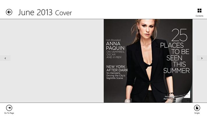 Manhattan Magazine for Windows 8