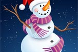 Snowman Coloring Dressup and Balloon Fun